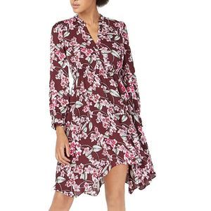 NEW Bar lll Pansy Parade Floral Long Sleeve Dress